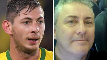 Emiliano Sala and David Ibbotson