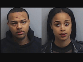 Woman involved in a fight with Bow Wow is identified as his ex-Leslie Holden as police release her mugshot