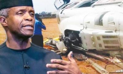 Accident Investigation Bureau concludes investigation on Osinbajo