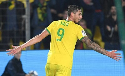 Nantes retire No 9 shirt in honour of Emiliano Sala after he