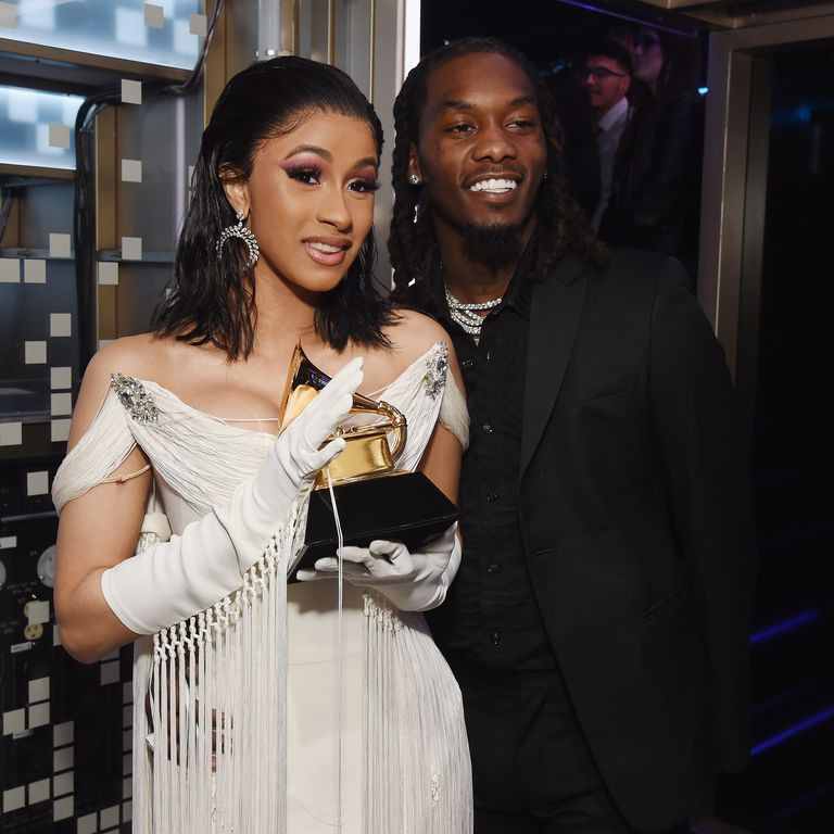 Offset shares never-before-seen video of Cardi B giving birth to Baby Kulture in the hospital (Watch)