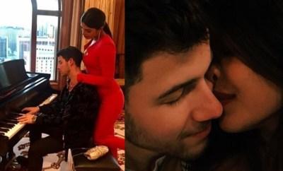 Nick Jonas and Priyanka Chopra celebrate their first Valentine