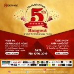 EVENT: The Redefined Media 5th Hangout & Visit to Orphanage This Sunday | DETAILS