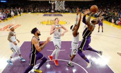 LeBron James shoots to overtake Michael Jordan's record