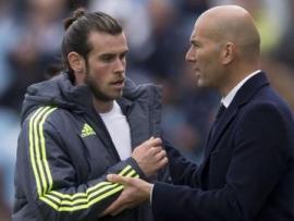 Zinedine Zidane and Gareth Bale