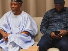 Photos: Merch Aigbe, Iyabo Ojo, Rauf Aregbesola attend Kwam 1