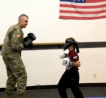 Emotional Video: Deployed Father Who Hasn't Seen His Son in 1year Surprised Him During Taekwondo Training