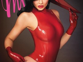 Kylie Jenner stuns in racy new shoot as she slams critics of her