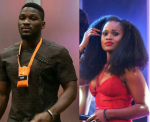 #DoubleWahalaReloaded: Video of Tobi And CeeC Talking About Their First Kiss in The House