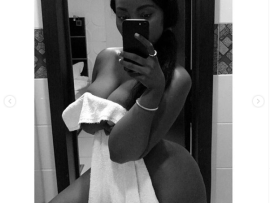 Curvy Tanzanian model, Sanchi floods Instagram with nearly naked photos?