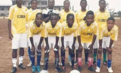 Can you spot Super Falcon star,?Asisat Oshoala in this epic throwback photo?