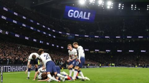 Tottenham won for the first time in the Premier League since 10 February
