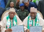 INEC Issues Certificate of Return To Governor Ganduje In Kano State