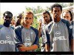 Throwback Photo of Okocha, Ronaldinho And Pochettino During Their PSG Days