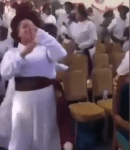 """""""Gbese For Jesus"""" – Minister Sings in Church As Man of God And His Members Do The Zanku/Legwork Dance [Video]"""