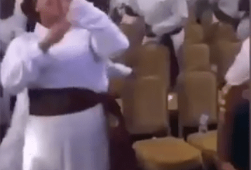 """""""Gbese for Jesus"""" - Minister sings in church as man of God and his members do the Zanku/legwork dance (video)"""
