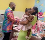 Lovely Video of Davido And His Second Babymama Dancing At Their Daughter's Birthday Party