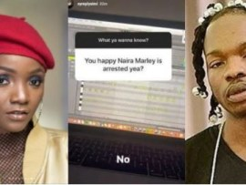 Finally, Simi breaks her silence on Naira Marley
