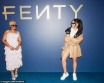 Rihanna Poses With Her Mom For Her New Fenty Fashion Line [Photos]