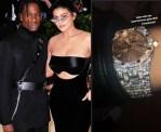 Travis Scott Surprises His Bae Kylie Jenner With New Diamond Wristwatch