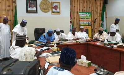Photos: Governor Ganduje signs bill seeking the creation of four new emirates in Kano