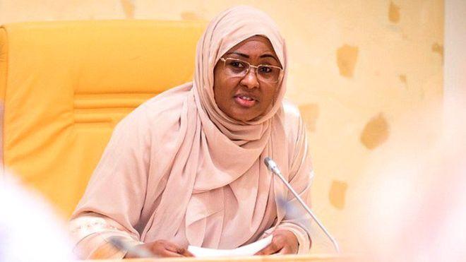 Now I choose to be called first lady -Aisha Buhari