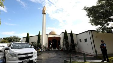 Al Noor mosque, one of the mosques where some 50 people were killed