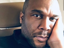 Actress pays $2,000 to put up huge billboard asking Tyler Perry for a job. See his reaction