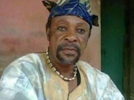 Veteran Yoruba actor?Fasasi