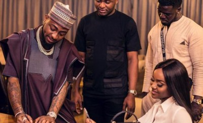 Davido reacts to reports that Ubi Franklin duped him and Chioma