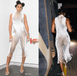 Twitter Users Mock Kelly Rowland's Bizarre Netted Gown On The Voice [Photos]