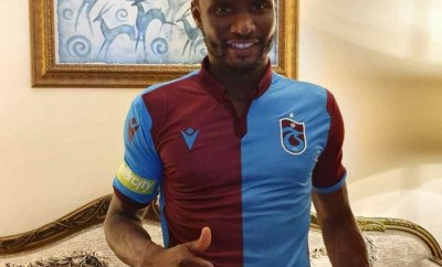 Super Eagles captain John Mikel Obi joins Turkish club Trabzonspor on a two-year deal