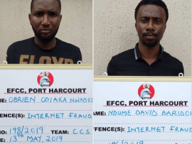 Two fraudsters bag two years for defrauding foreigners $3800