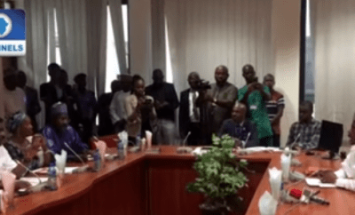 Elisha Abbo clashes with Tinubu over sex toy shop assault (video)
