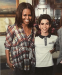 Michelle Obama Pens Down Touching Tribute To Cameron Boyce