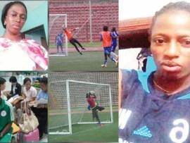Ex- Super Falcons goalkeeper Bidemi Aluko battling breast cancer