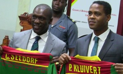 Seedorf sacked by Cameroon after AFCON exit