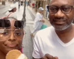Hilarious Reactions As Otedola And Daughter DJ Cuppy Travel To Italy Just To Have Ice Cream [Video]