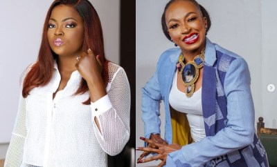 Funke Akindele recounts getting food on set on first meeting with Kate Henshaw 22 years ago