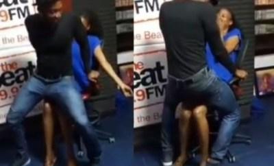 Video: Evicted #BBNaija housemate, Tuoyo gives BeatFM