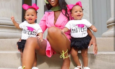 Single mother who got pregnant with twins while schooling shares her story as she graduates with 3 degrees