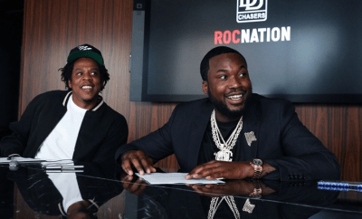 Jay-Z and Meek Mill join forces to launch Dream Chasers record label under Roc Nation