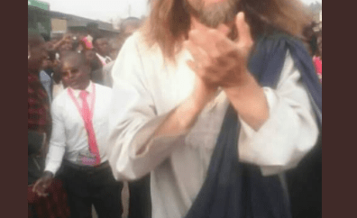 "Excitement as ""Jesus Christ"" visits Kenya (photos/videos)"