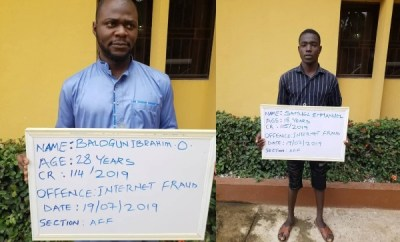 Two yahoo boys bag 6 months jail sentence