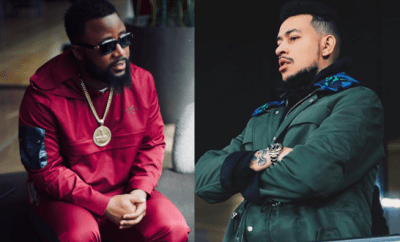 Shot fired! AKA comes for his fellow SA rapper Cassper Nyovest after he praised Nigerian Music Industry?