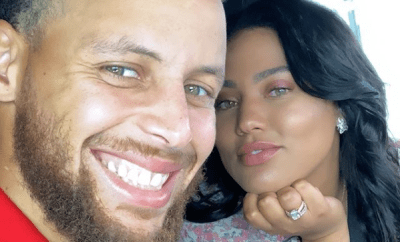 NBA star, Steph Curry and wife Ayesha Curry celebrate their 8th wedding Anniversary today