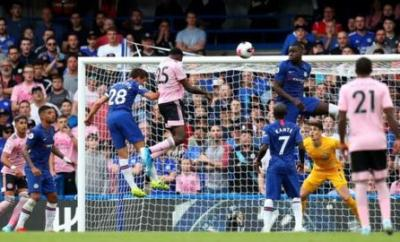 Wilfred Ndidi scored his first Premier League goal since January