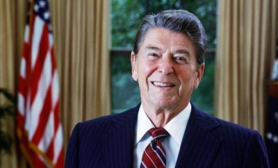 Former US President Ronald Reagan called Africans in the UN