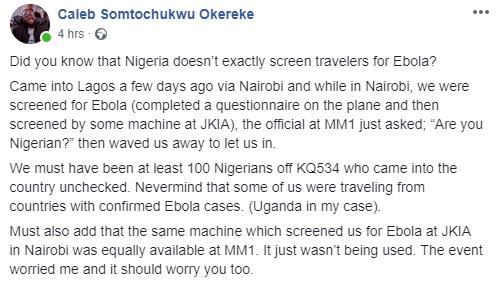 Nigeria doesn