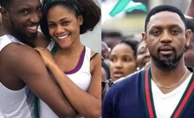 """""""No amount of lies can put down a heart that has no room for fear"""" - Timi Dakolo says as he stands by his wife amid reports of police intimidation"""